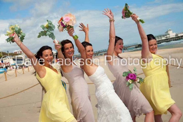Photographer for weddings in Bournemouth
